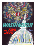 Washington  DC - Fly TWA Jets (Trans World Airlines)