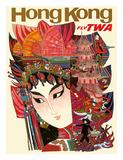 Hong Kong - Fly TWA (Trans World Airlines)