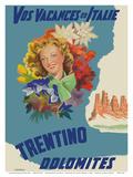 Trentino  Italy - Dolomites Mountain Range - Vos Vacances en Italie (Your Holidays in Italy)