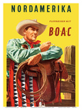 North America - Fly with BOAC (British Overseas Airways Corporation)