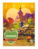 Jena  Germany - Besucht Thüringen (Visit Thuringia) - The Green Heart of Germany