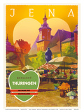 Jena  Germany - Besucht Thüringen (Visit Thuringia) - The Green Heart of Germany