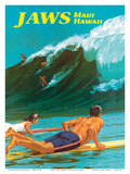 Jaws - Maui  Hawaii - Big Wave Surfing
