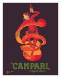 Campari L'Aperitivo (Campari Aperitif) - Clown Wrapped in Orange Peel