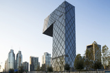 China  Beijing  Gleaming Steel and Glass Cctv Building