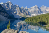 Canada  Banff National Park  Valley of the Ten Peaks  Moraine Lake