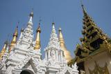Myanmar  Yangon Shwedagon Pagoda  Holiest Buddhist Shrine in Myanmar