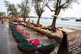 Bars and Restaurants Along Serendipity Beach  Sihanoukville  Cambodia