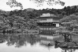 Asia, Japan, Kyoto. Kinkaku-Ji Zen Buddhist Temple Papier Photo par Dennis Flaherty