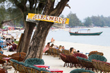 Serendipity Beach Is the Main Beach in Sihanoukville  Cambodia