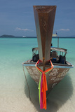 Thailand  Phuket  Island of Phi Phi Don Traditional Longboat