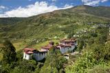 Tongsa Dzong  Buddhist Monastery and Fortress  in Tongsa  Bhutan