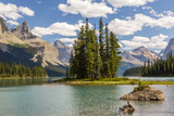 Canada  Alberta  Jasper National Park  Maligne Lake and Spirit Island