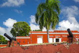 Fort Frederik in Frederiksted  St Croix  Us Virgin Islands