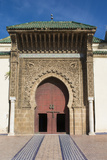 Meknes  Morocco  Exterior of Mausoleum of Mouley Idriss