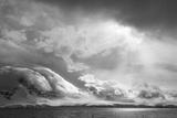 Antarctica  South Atlantic Stormy Snow Clouds over Peninsula