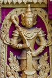 Buddhist Statue  Kuthodaw Pagoda  Mandalay  Myanmar
