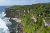Cliff Along the Ocean  Bali Island  Indonesia
