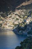 Morning View of Positano  Along the Amalfi Coast  Campania  Italy