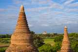 Ancient Temples and Pagodas  Bagan  Mandalay Region  Myanmar