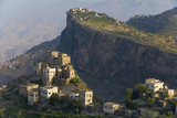 Yemen  Al Mahwit Province  Al Karn  Mountain Village  Elevated View