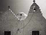 Greece  Mykonos Church Steeples and Crosses