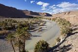 River and Desert  Near Erfoud  Meknes-Tafilalet  Morocco