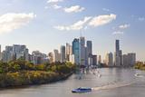 City Center and Central Business District Skyline  Brisbane  Australia