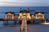 Pier at Sellin  Rugen Island  Mecklenburg-Vorpommern  Germany