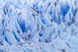 Chile  Patagonia  Torres del Paine NP Close-up of Blue Glacier