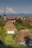Romania  Maramures Region  Baia Mare  Maramures-Style Wooden Church