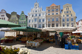 New Market Square  Rostock  Germany