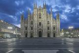 Italy  Milan  Cathedral Duomo di Milano at Dawn