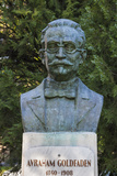 Romania  Moldavia  Iasi  Bust of Avraham Goldfaden