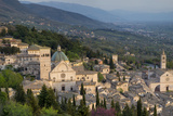 View over Assisi  Umbria  Italy