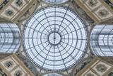 Italy  Milan  Galleria Vittorio Emanuele II Ceiling