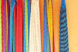 Mexico  Jalisco Colorful Hammocks Sold by Street Vendors