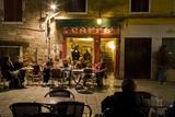Italy  Venice  Night Cafe