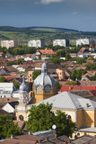 Romania  Transylvania  Targu Mures  View of the Town Synagogue