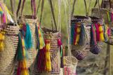 Papua New Guinea  Murik Lakes  Karau Village Woven Straw Bags