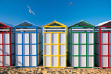 Spain  Costa Brava  Beach Huts