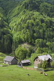 Romania  Transylvania  Tihuta Pass  Mountain Buildings of the Pass