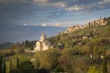 Madonna di San Biagio Church Below Montepulciano  Tuscany  Italy