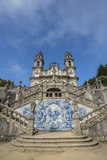 Lamego  Portugal  Shrine of Our Lady of Remedies Exterior Steps