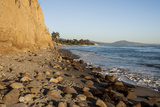 California  Santa Barbara  Montecito  Butterfly Beach  Sandy Cliff