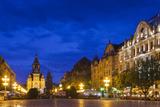 Romania  Banat Region  Timisoara  Piata Victoriei Square and Cathedral