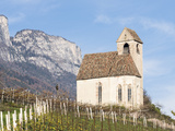 Palace Schloss Englar the Chapel Sankt Sebastian South Tyrol  Italy