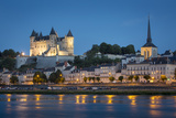 Chateau Saumur and River Loire  Maine-Et-Loire  Centre  France