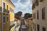 Buildings in Historic Center of Sao Luis  Maranhao State  Brazil