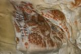 California  Santa Barbara  Chumash Painted Cave  Rock Art